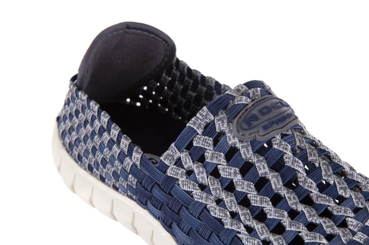 Półbuty rock arbatax washed navy, niebieski, materiał - rock - nasze marki 11