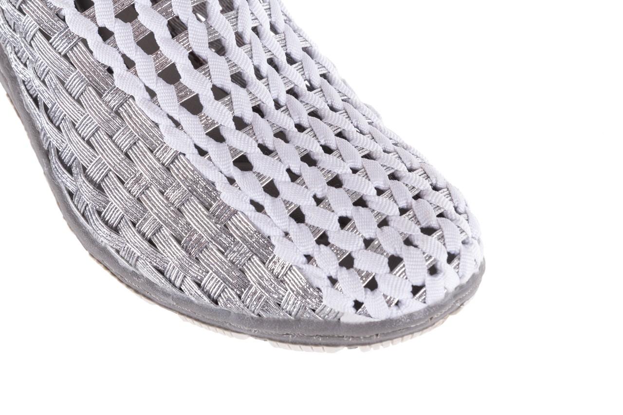 Półbuty rock cape horn silver white, srebrny/biały, materiał  - rock - nasze marki 12