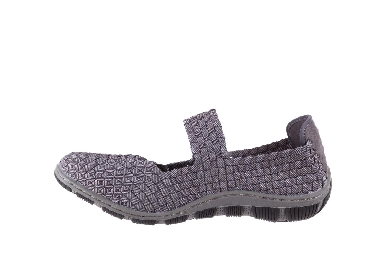 Półbuty rock cape town grey ratan, szary, materiał - obuwie sportowe - buty damskie - kobieta 8
