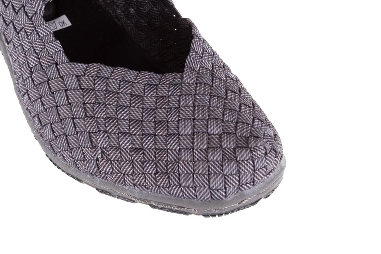 Półbuty rock cape town grey ratan, szary, materiał - obuwie sportowe - buty damskie - kobieta 11