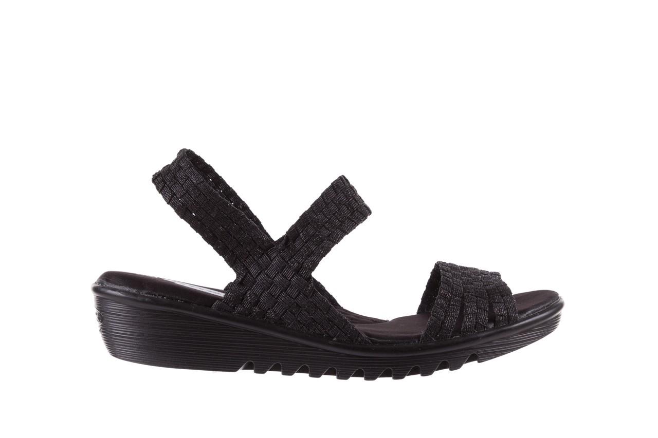 Sandały rock coaster met black, czarny, materiał  - rock - nasze marki 6