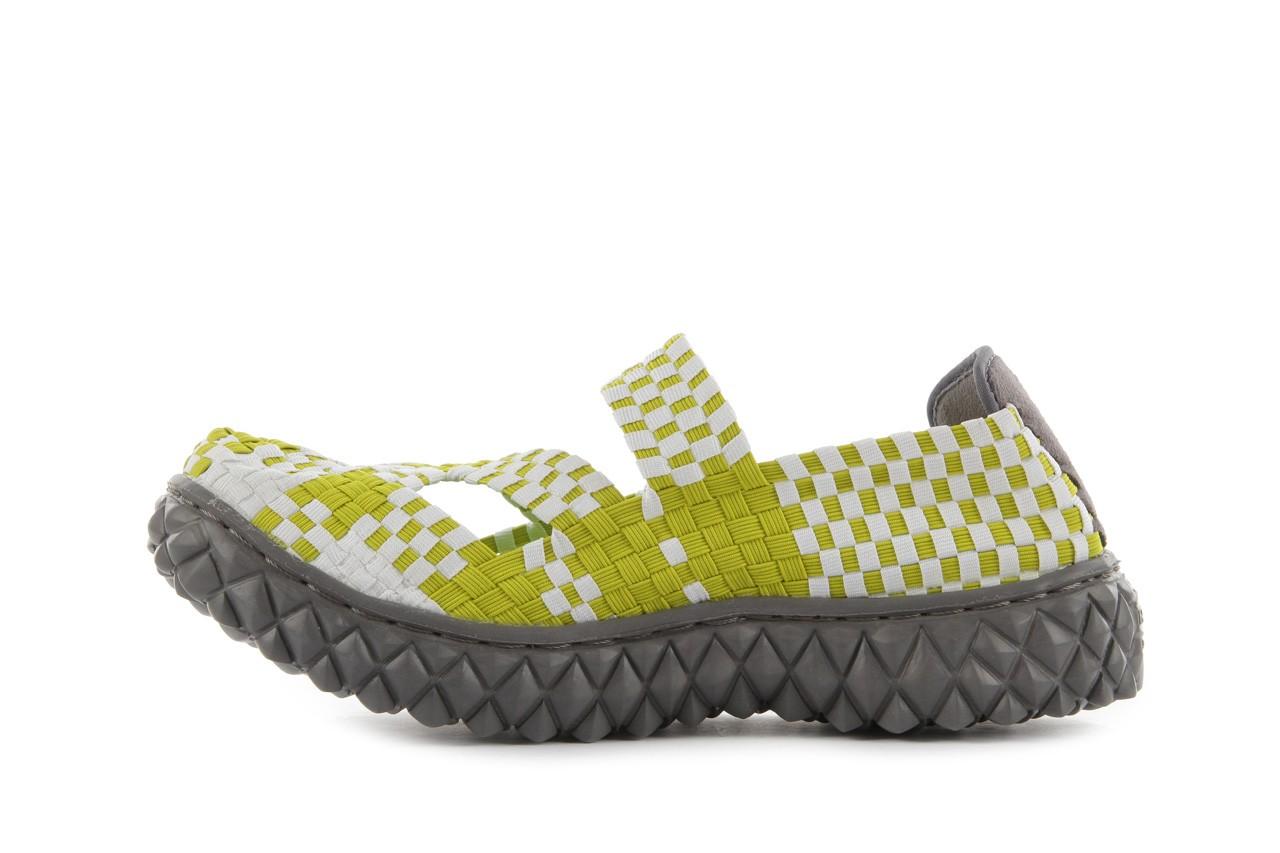Sandały rock cross green-white, zielony, materiał  - rock - nasze marki 10