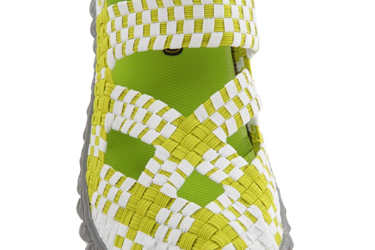 Sandały rock cross green-white, zielony, materiał  - rock - nasze marki 14