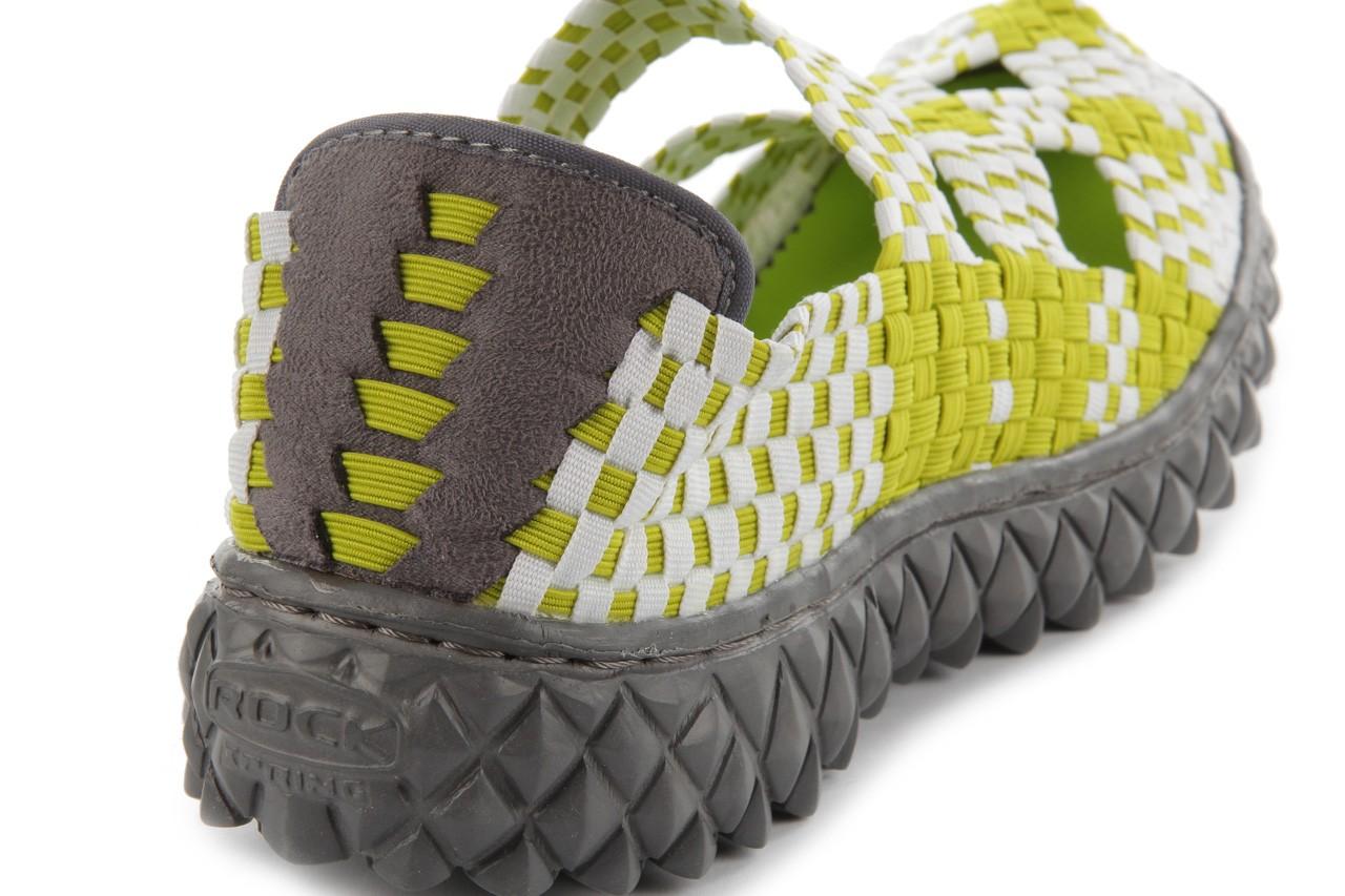 Sandały rock cross green-white, zielony, materiał  - rock - nasze marki 15