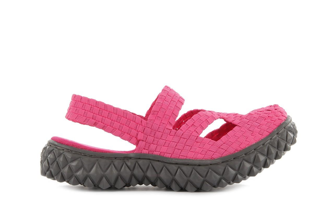 Sandały rock cross sandal fuchsia. róż, materiał - rock - nasze marki 7