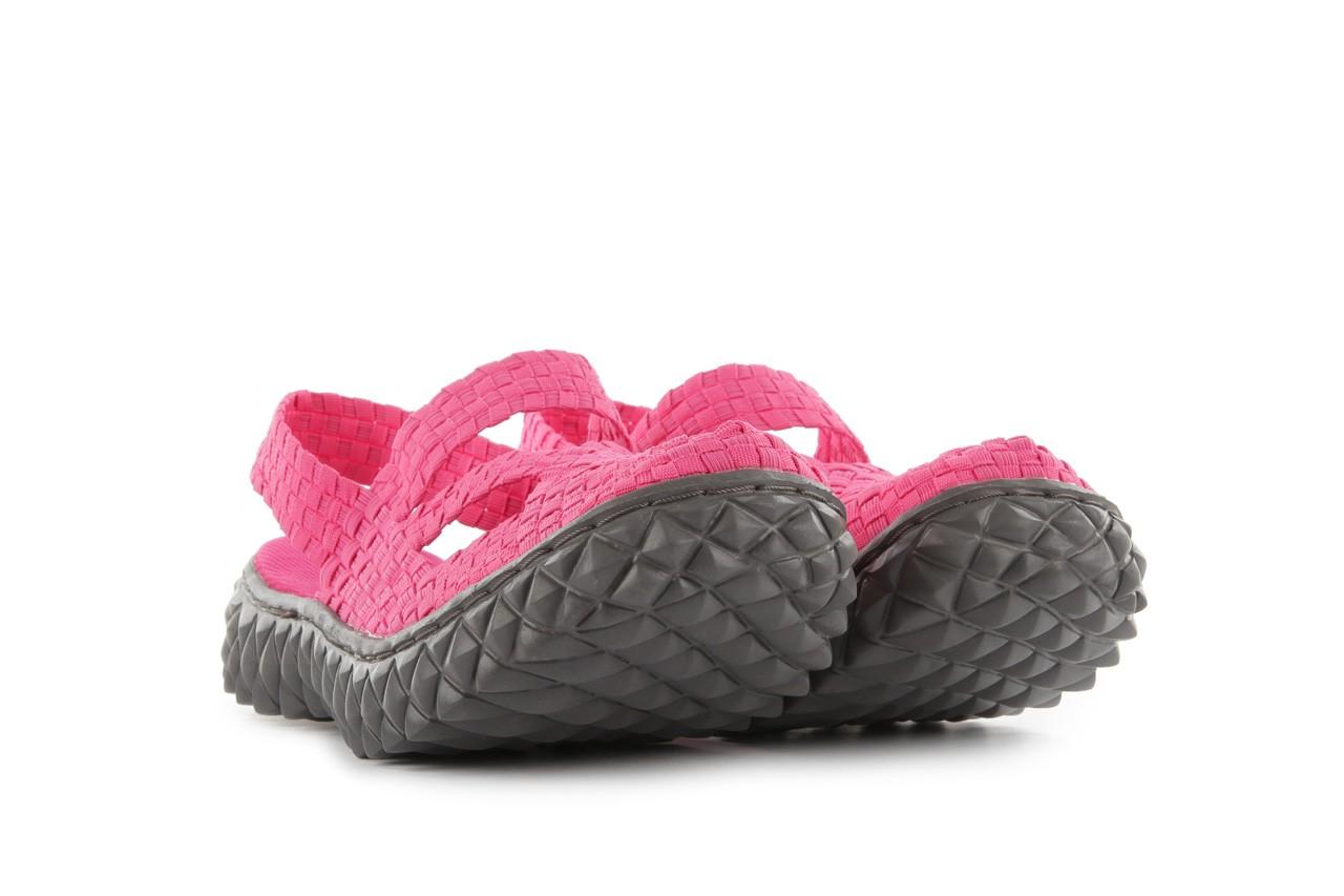 Sandały rock cross sandal fuchsia. róż, materiał - rock - nasze marki 8