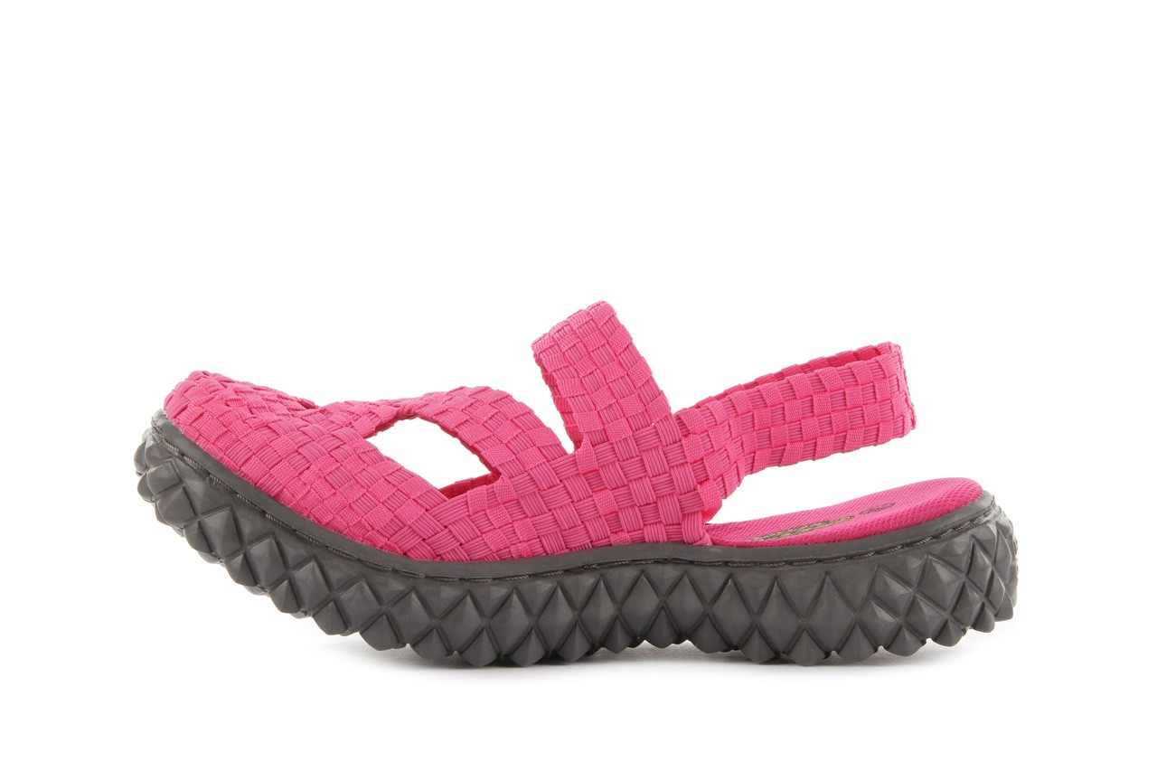 Sandały rock cross sandal fuchsia. róż, materiał - rock - nasze marki 9