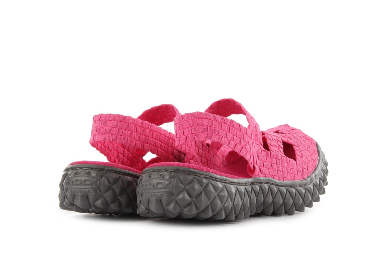 Sandały rock cross sandal fuchsia. róż, materiał - rock - nasze marki 10