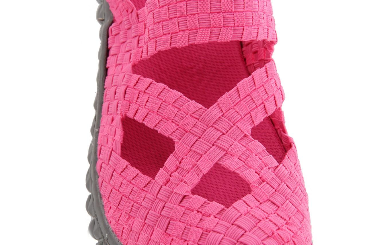 Sandały rock cross sandal fuchsia. róż, materiał - rock - nasze marki 13