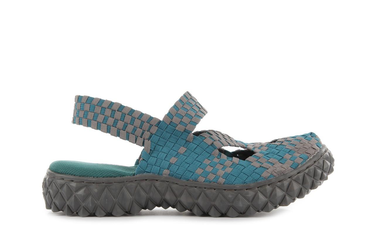 Sandały rock cross sandal petrol grey, niebieski, materiał - rock - nasze marki 7