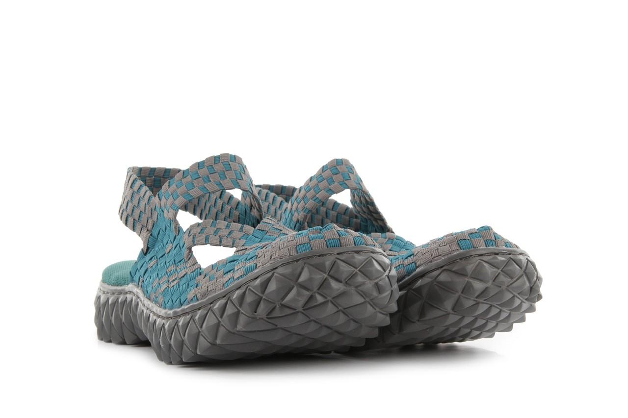 Sandały rock cross sandal petrol grey, niebieski, materiał - rock - nasze marki 8