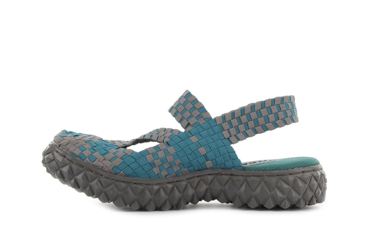 Sandały rock cross sandal petrol grey, niebieski, materiał - rock - nasze marki 9
