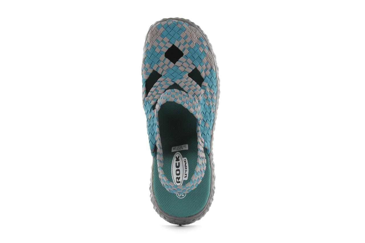 Sandały rock cross sandal petrol grey, niebieski, materiał - rock - nasze marki 11