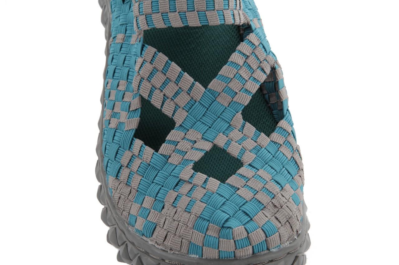 Sandały rock cross sandal petrol grey, niebieski, materiał - rock - nasze marki 12