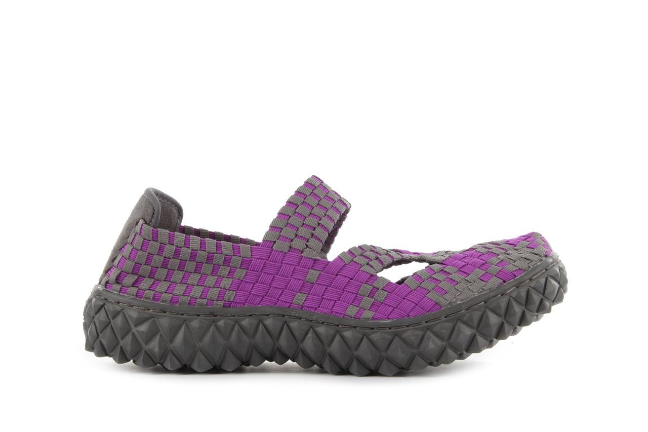 Sandały rock cross violet-grey, fiolet/ szary, materiał - rock - nasze marki 8