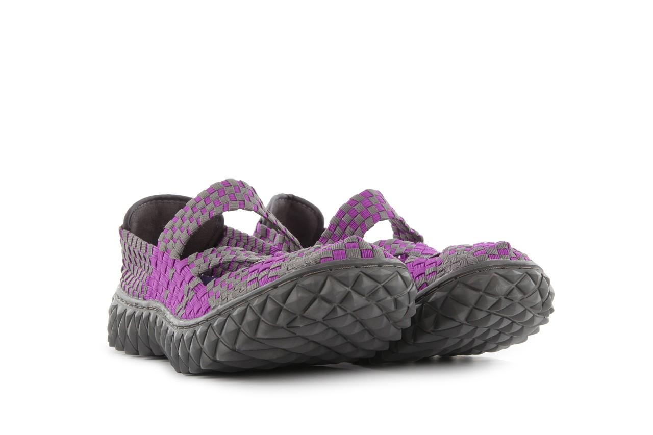 Sandały rock cross violet-grey, fiolet/ szary, materiał - rock - nasze marki 9