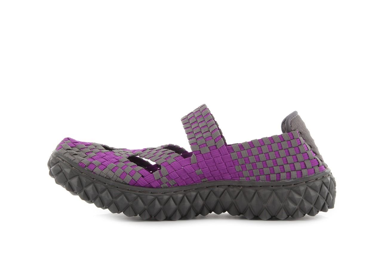 Sandały rock cross violet-grey, fiolet/ szary, materiał - rock - nasze marki 10
