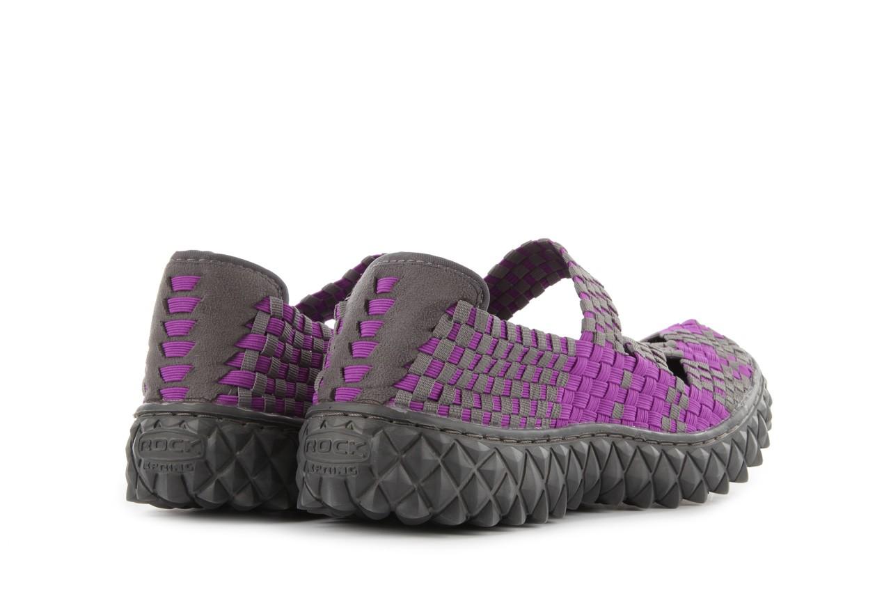 Sandały rock cross violet-grey, fiolet/ szary, materiał - rock - nasze marki 11