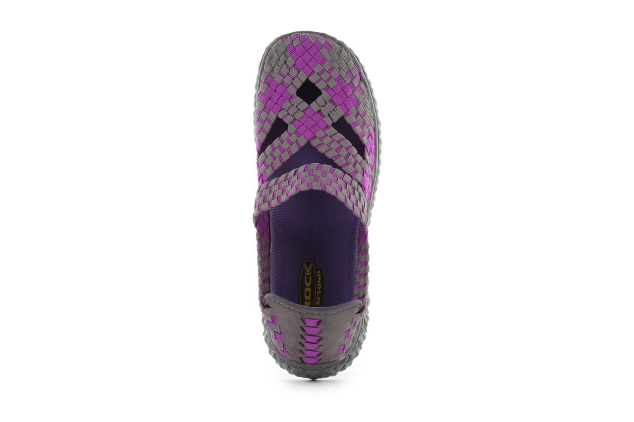 Sandały rock cross violet-grey, fiolet/ szary, materiał - rock - nasze marki 12
