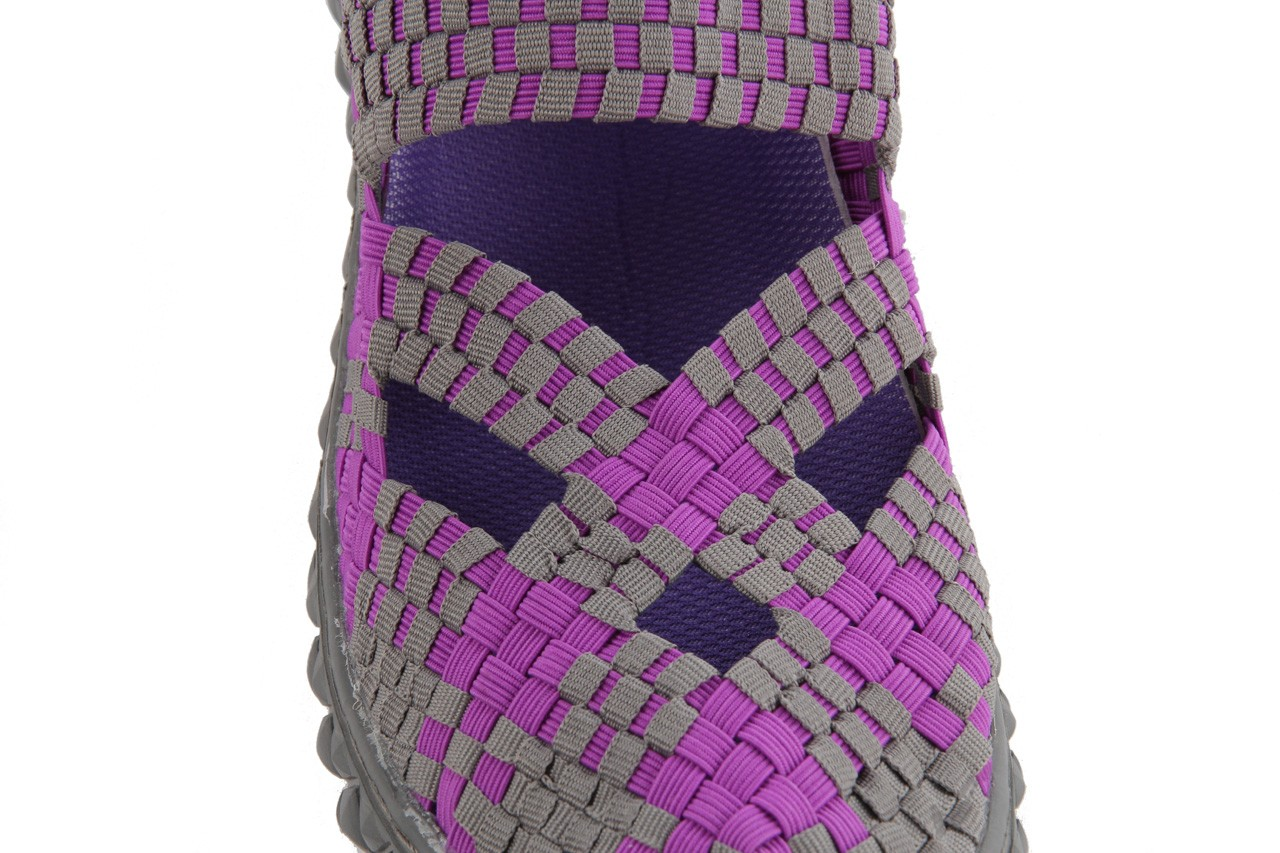 Sandały rock cross violet-grey, fiolet/ szary, materiał - rock - nasze marki 14