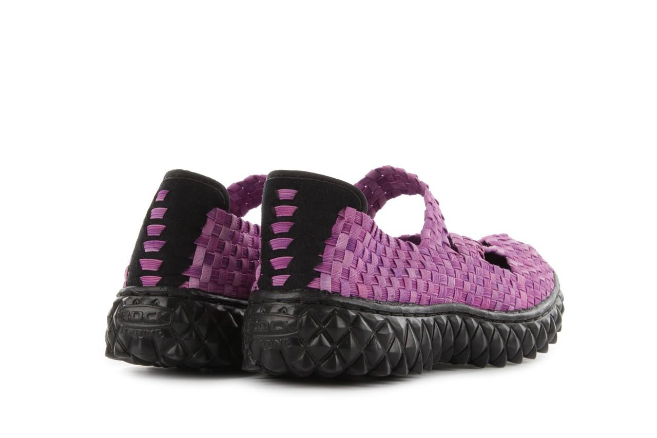 Sandały rock cross washed violet, fiolet, materiał  - rock - nasze marki 11