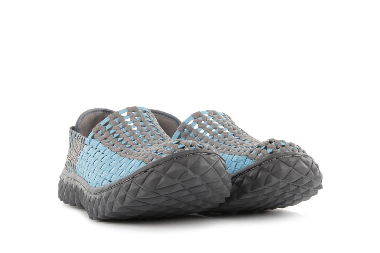 Półbuty rock full breath blue-grey, niebieski/szary, materiał - rock - nasze marki 8