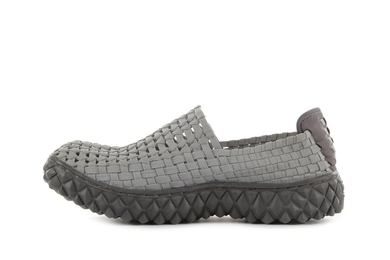 Sandały rock full breath grey, szary, materiał  - rock - nasze marki 10