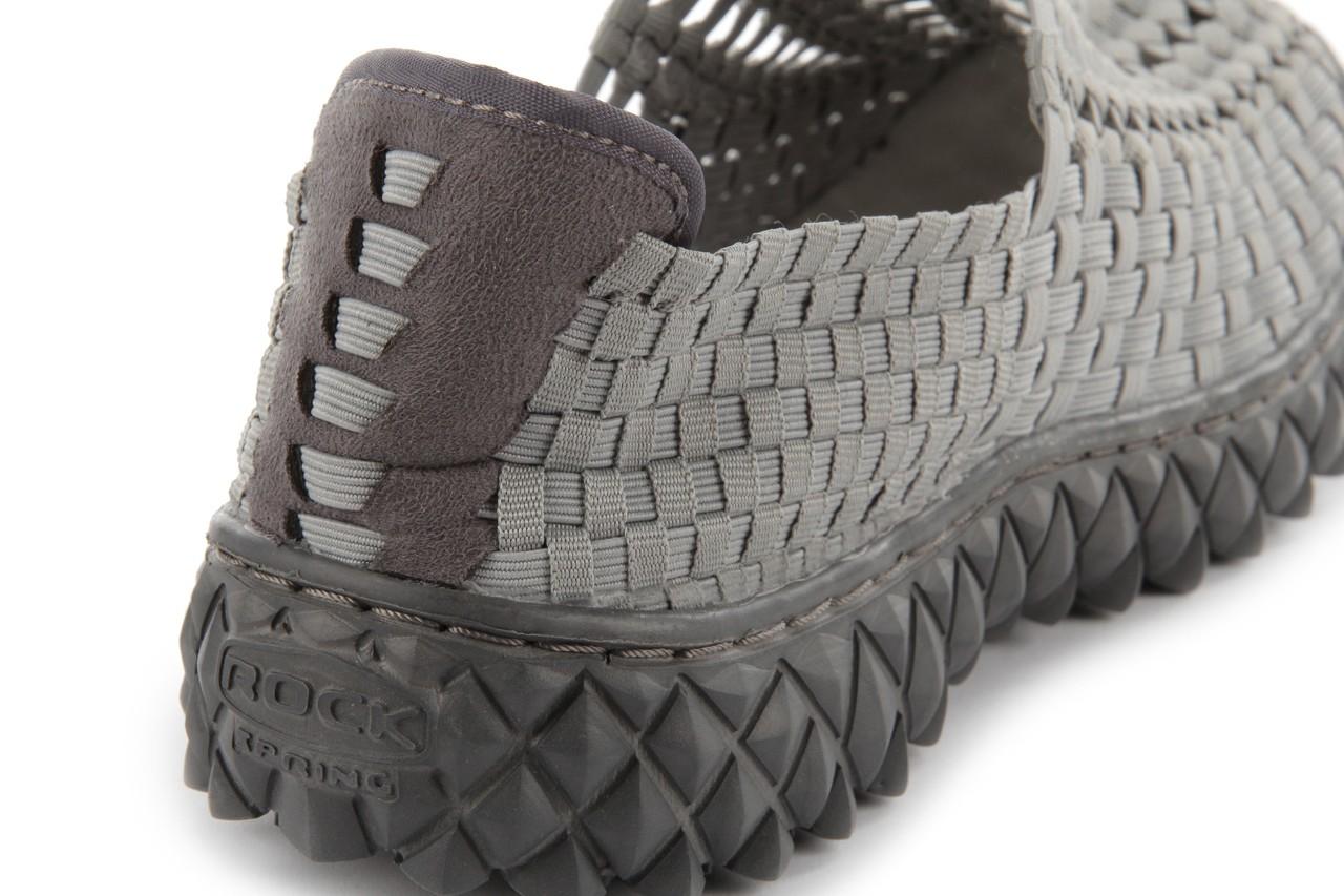 Sandały rock full breath grey, szary, materiał  - rock - nasze marki 15