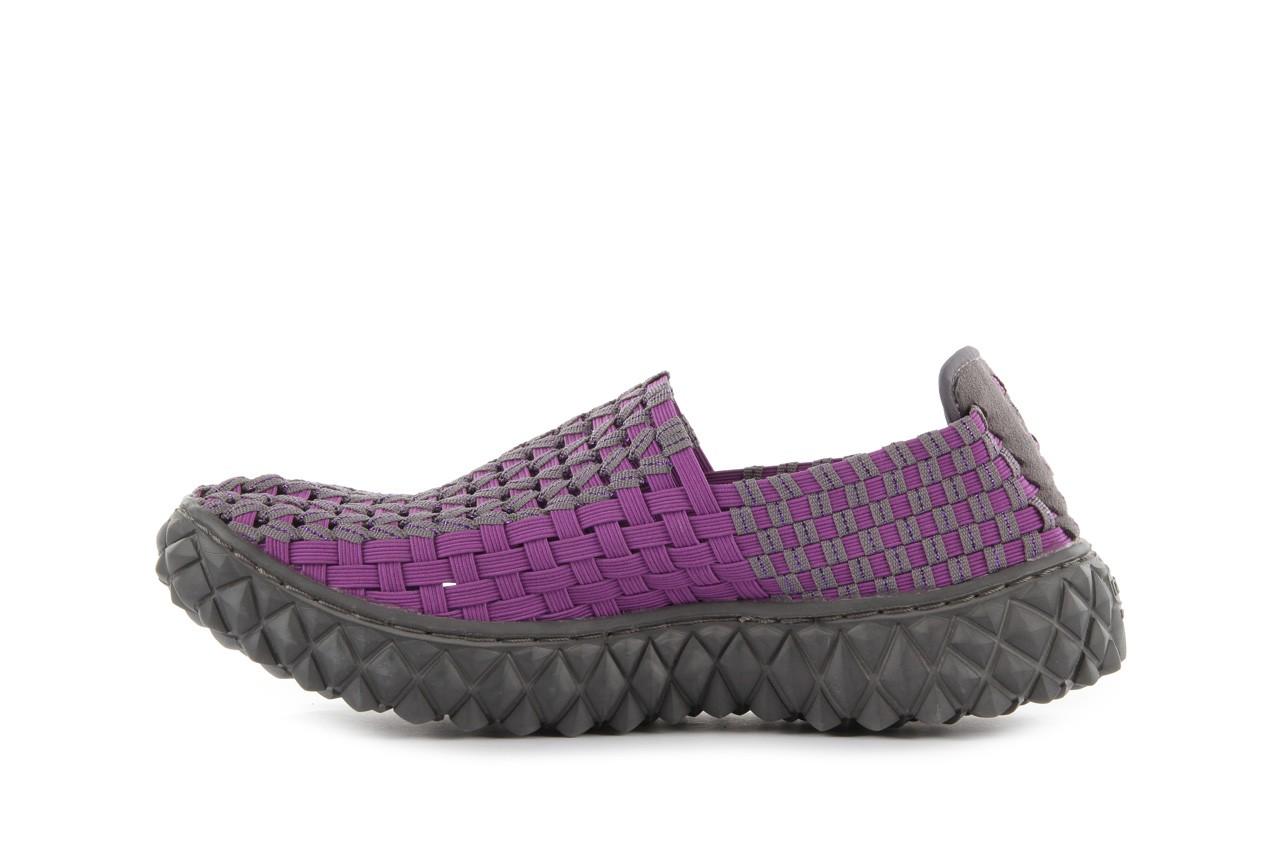 Półbuty rock full breath violet-grey, fiolet/szary, materiał 9