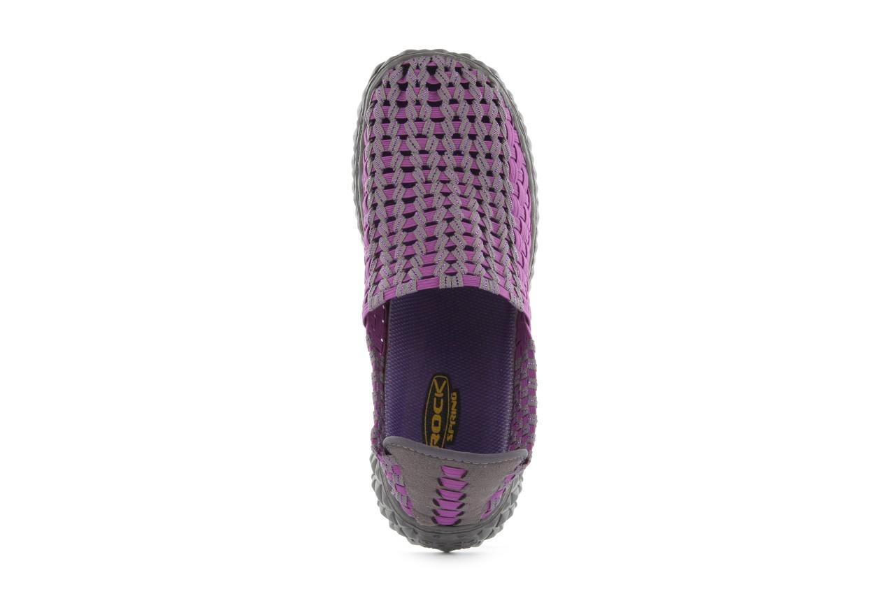 Półbuty rock full breath violet-grey, fiolet/szary, materiał 11