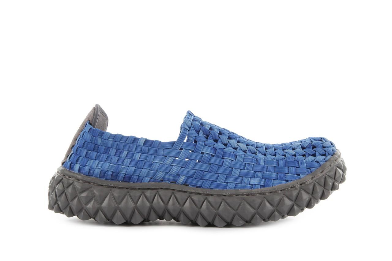 Półbuty rock full breath washed elblue, niebieski, materiał - rock - nasze marki 8