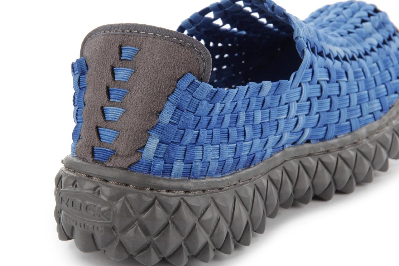 Półbuty rock full breath washed elblue, niebieski, materiał - rock - nasze marki 14