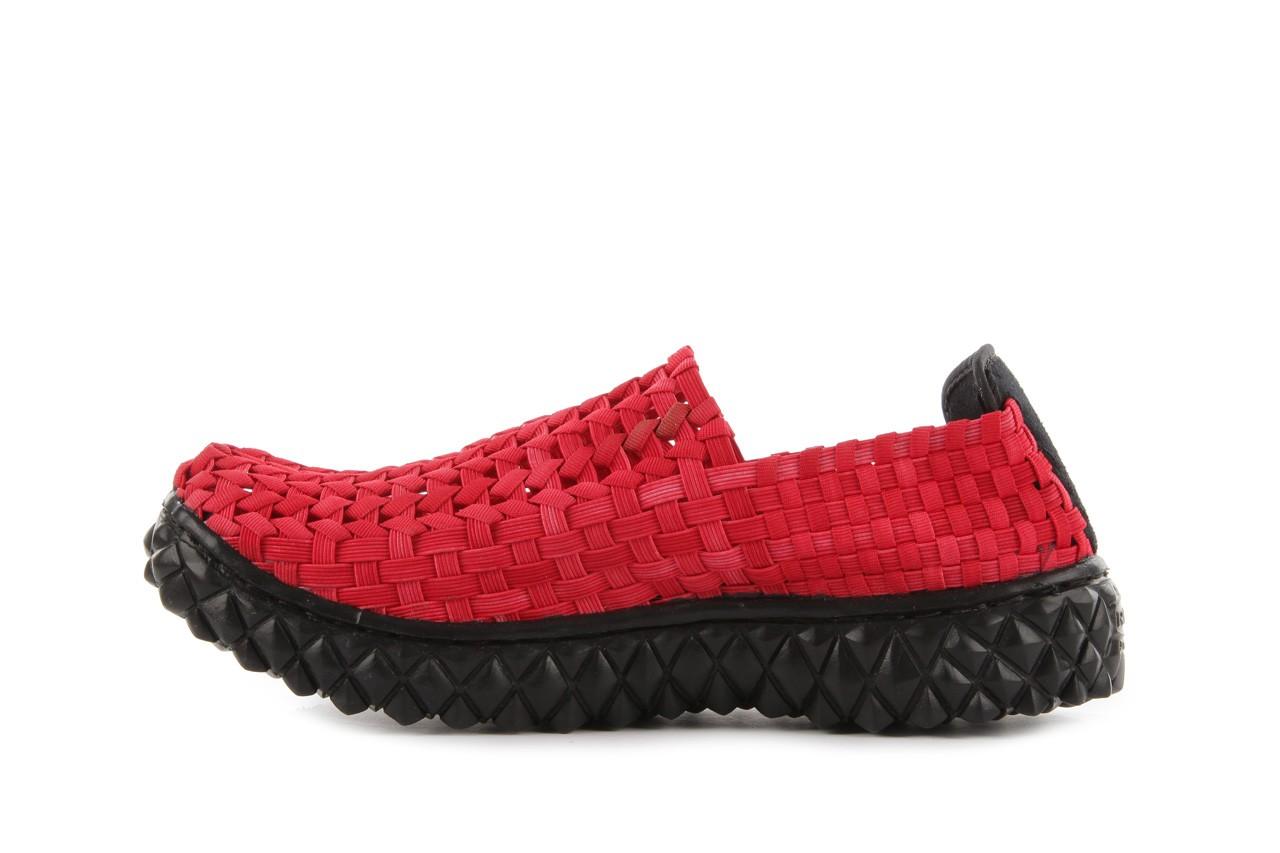 Półbuty rock full breath washed red, czerwony, materiał - rock - nasze marki 10