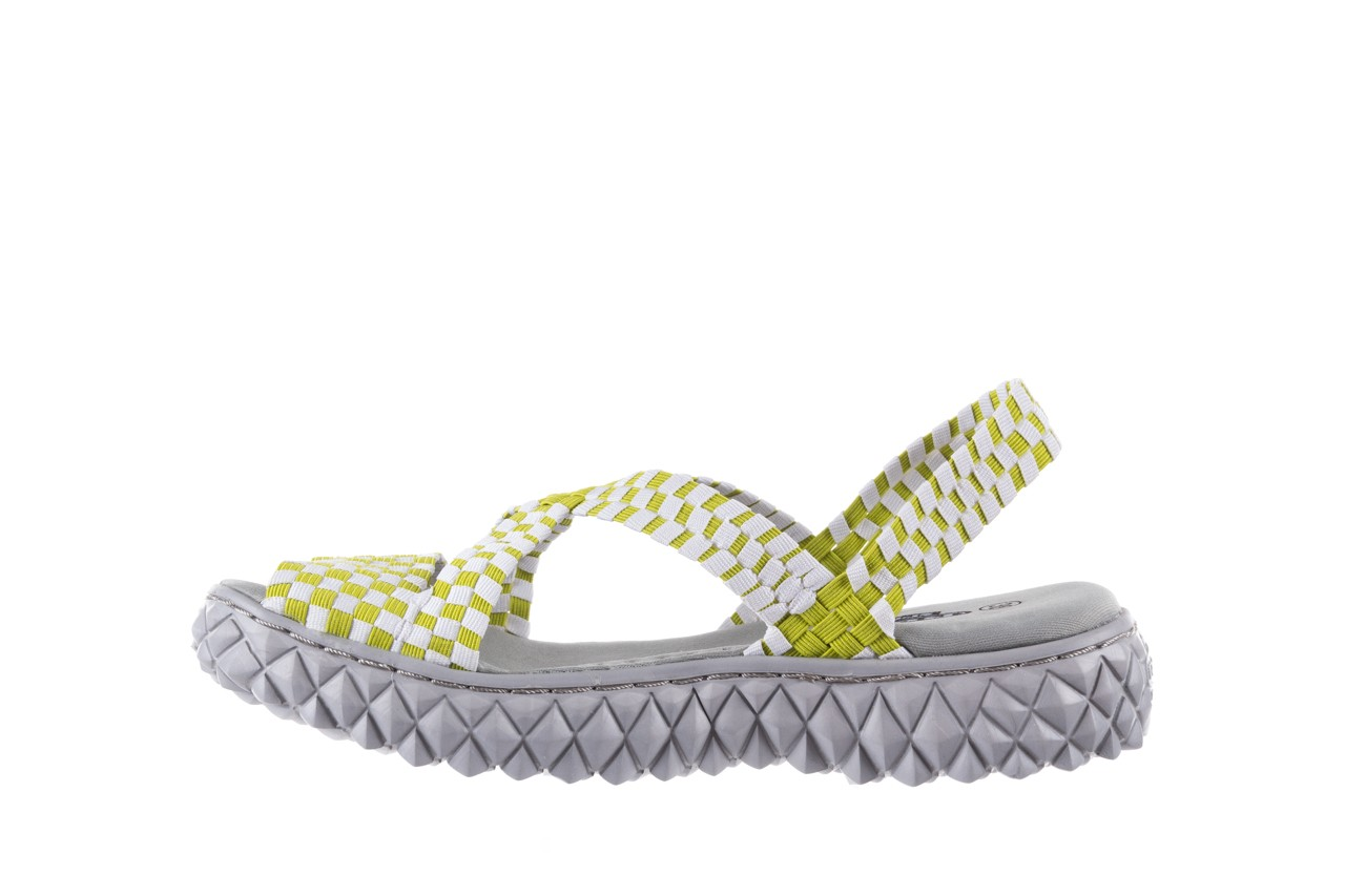 Sandały rock marea green white, zielony/biały, materiał - rock - nasze marki 8