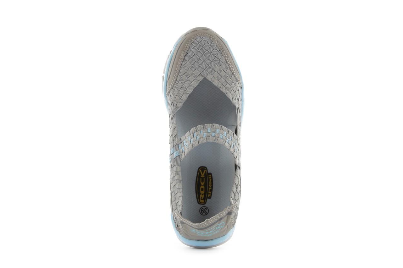 Sandały rock miami over grey-blue, szary/ niebieski, materiał - rock - nasze marki 12