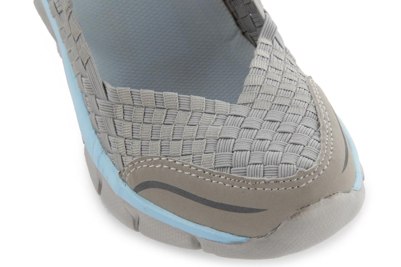 Sandały rock miami over grey-blue, szary/ niebieski, materiał - rock - nasze marki 13