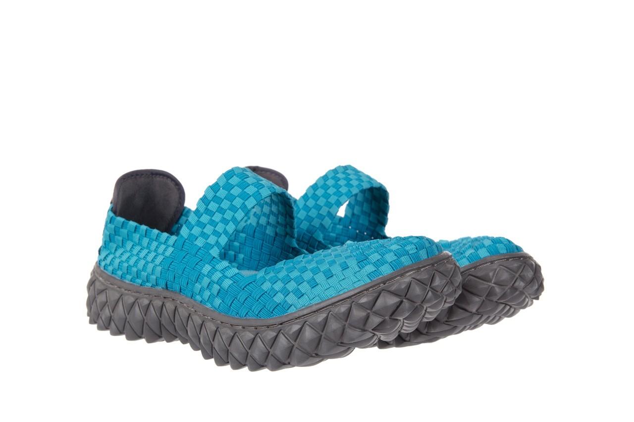 Sandały rock over aqua, niebieski, materiał - rock - nasze marki 7