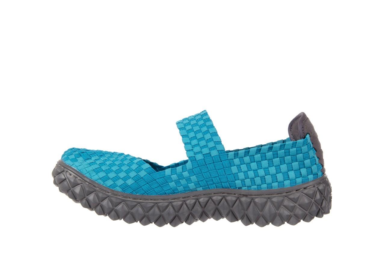 Sandały rock over aqua, niebieski, materiał - rock - nasze marki 8