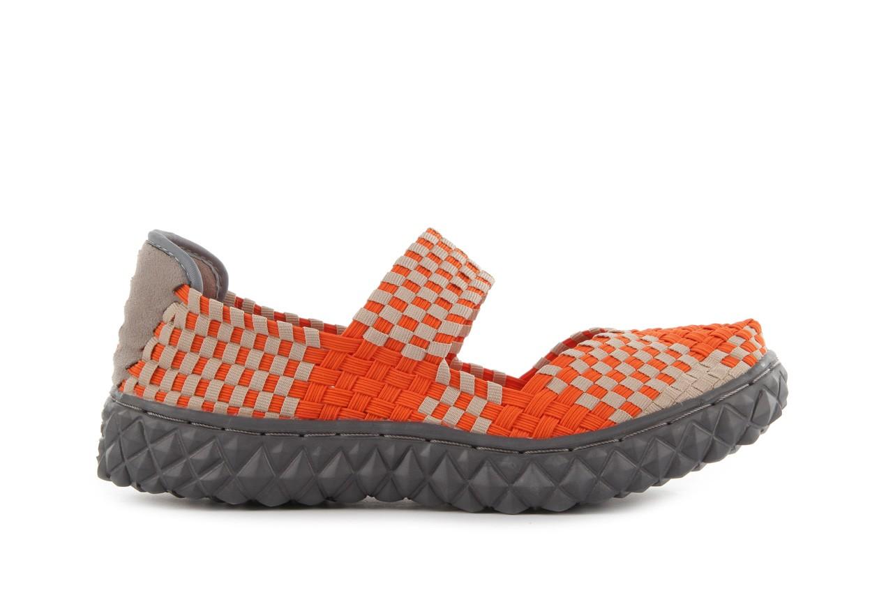 Sandały rock over orange-beige, pomarańcz/ beż - rock - nasze marki 8