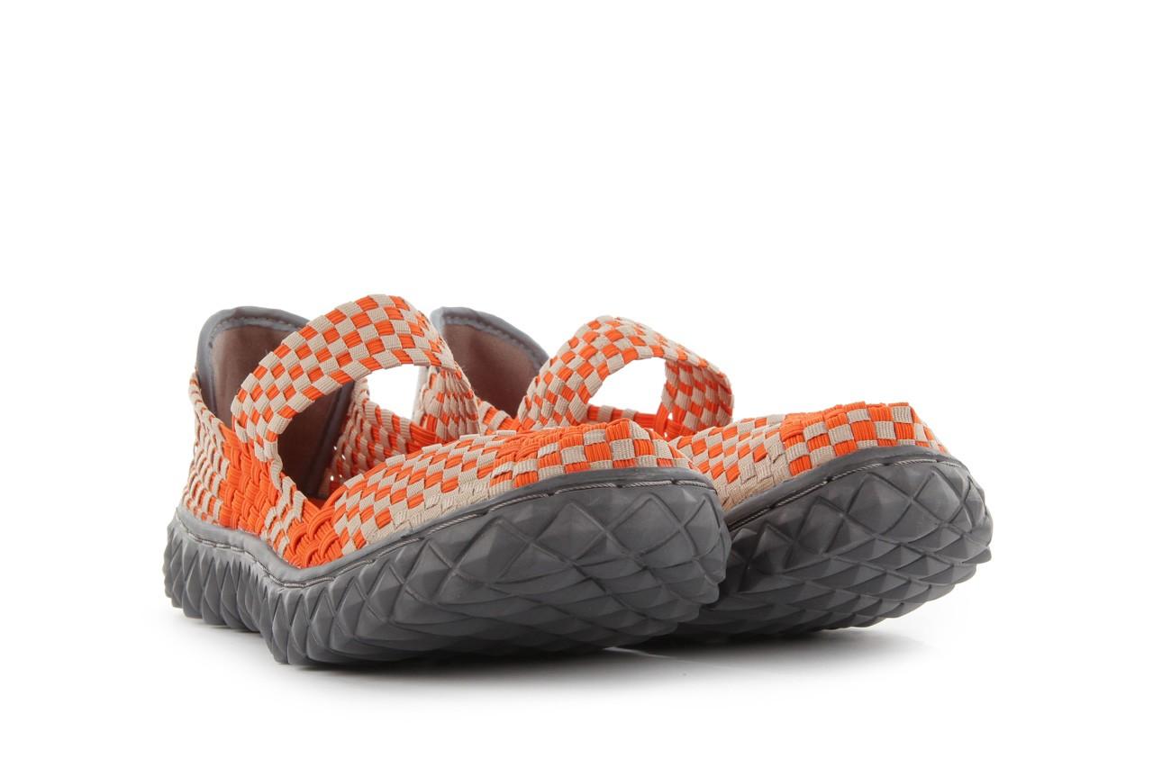 Sandały rock over orange-beige, pomarańcz/ beż - rock - nasze marki 9