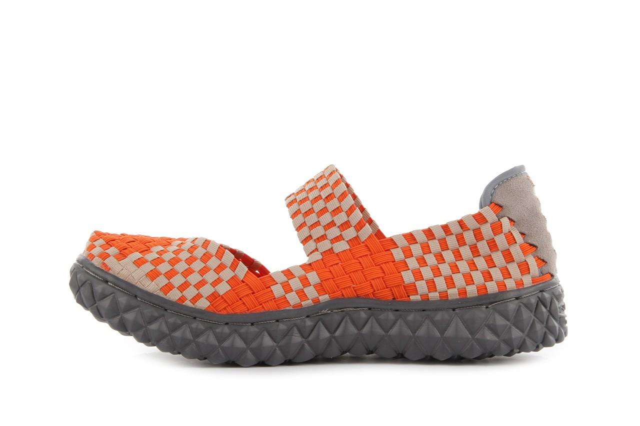 Sandały rock over orange-beige, pomarańcz/ beż - rock - nasze marki 10