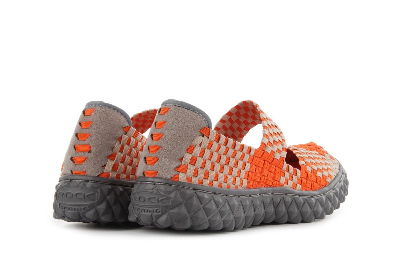 Sandały rock over orange-beige, pomarańcz/ beż - rock - nasze marki 11