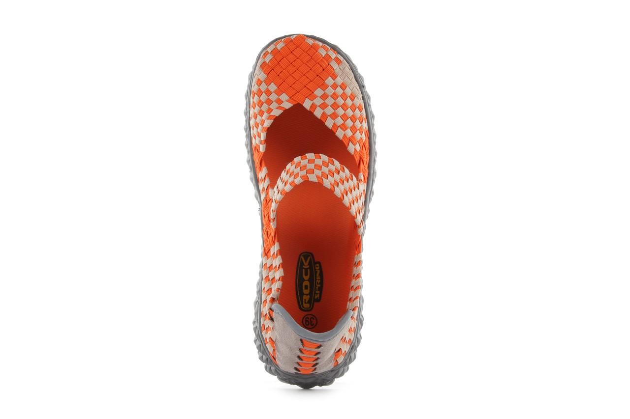 Sandały rock over orange-beige, pomarańcz/ beż - rock - nasze marki 13