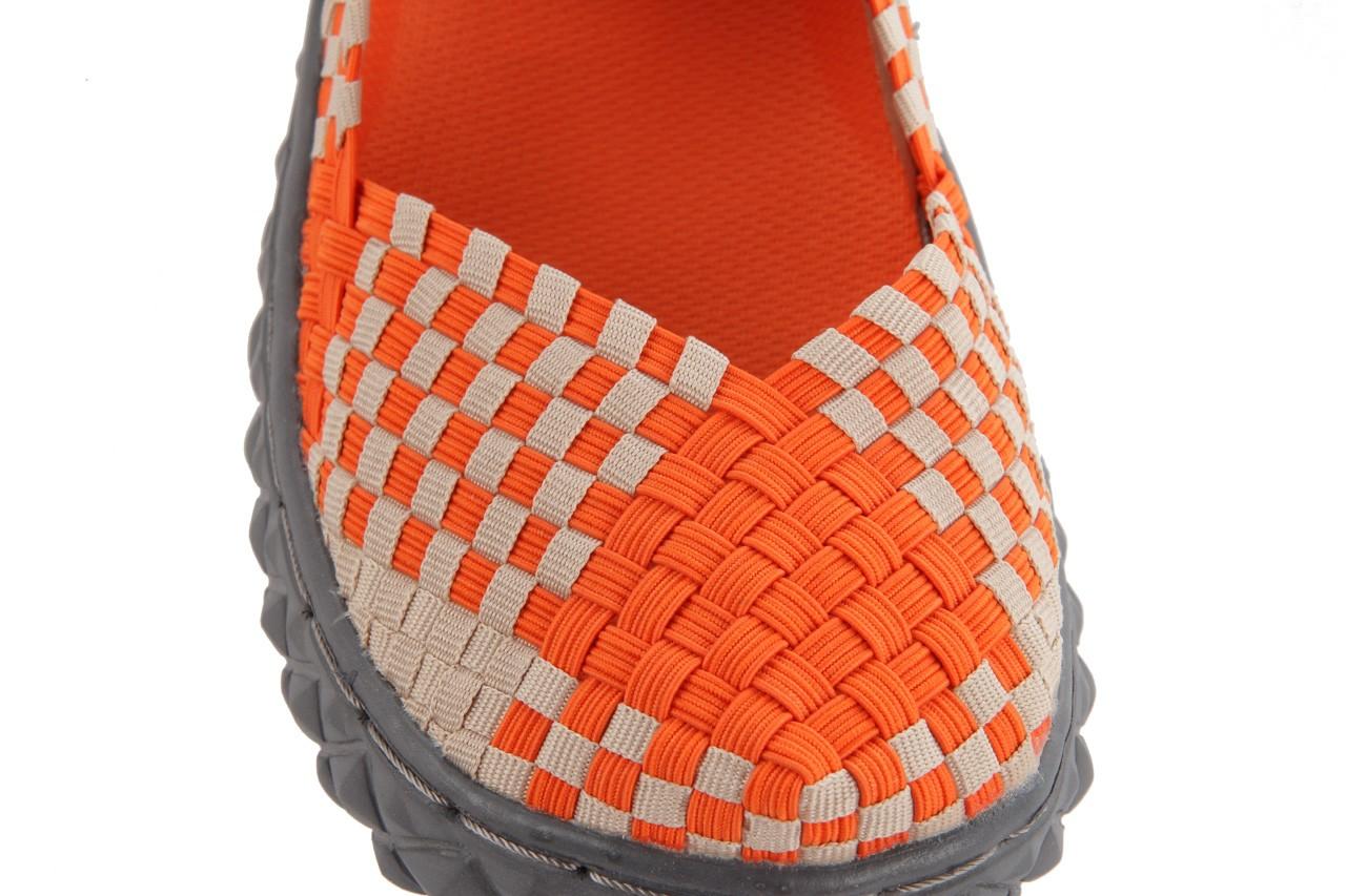 Sandały rock over orange-beige, pomarańcz/ beż - rock - nasze marki 14