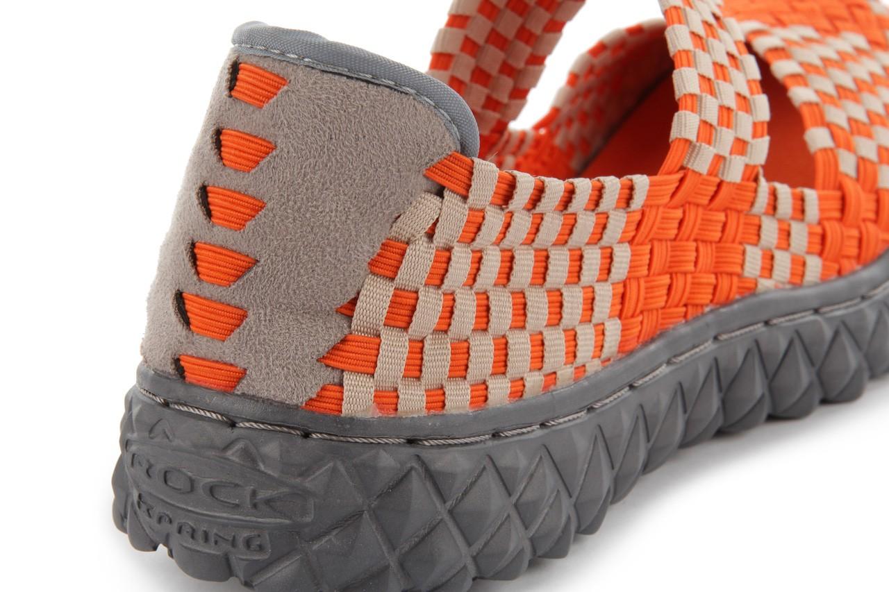 Sandały rock over orange-beige, pomarańcz/ beż - rock - nasze marki 12
