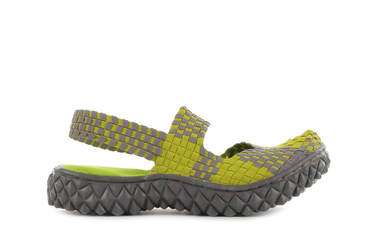 Sandały rock over sandal green-grey, zielony/ szary, materiał  - rock - nasze marki 7