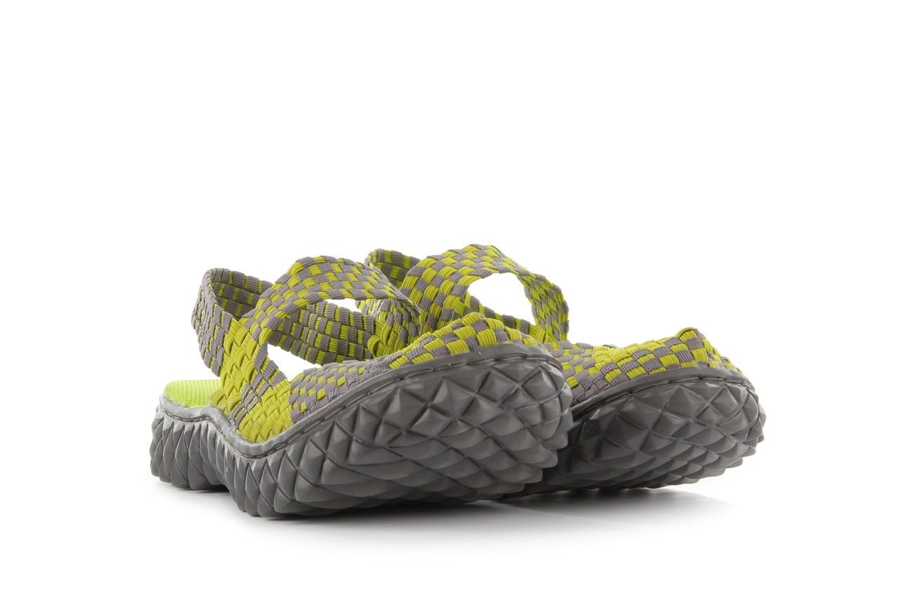 Sandały rock over sandal green-grey, zielony/ szary, materiał  - rock - nasze marki 8