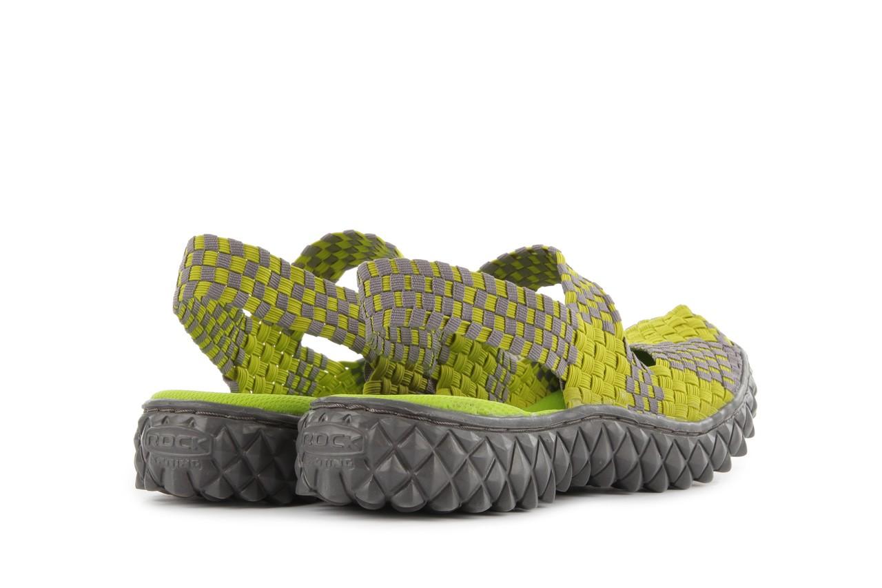 Sandały rock over sandal green-grey, zielony/ szary, materiał  - rock - nasze marki 10