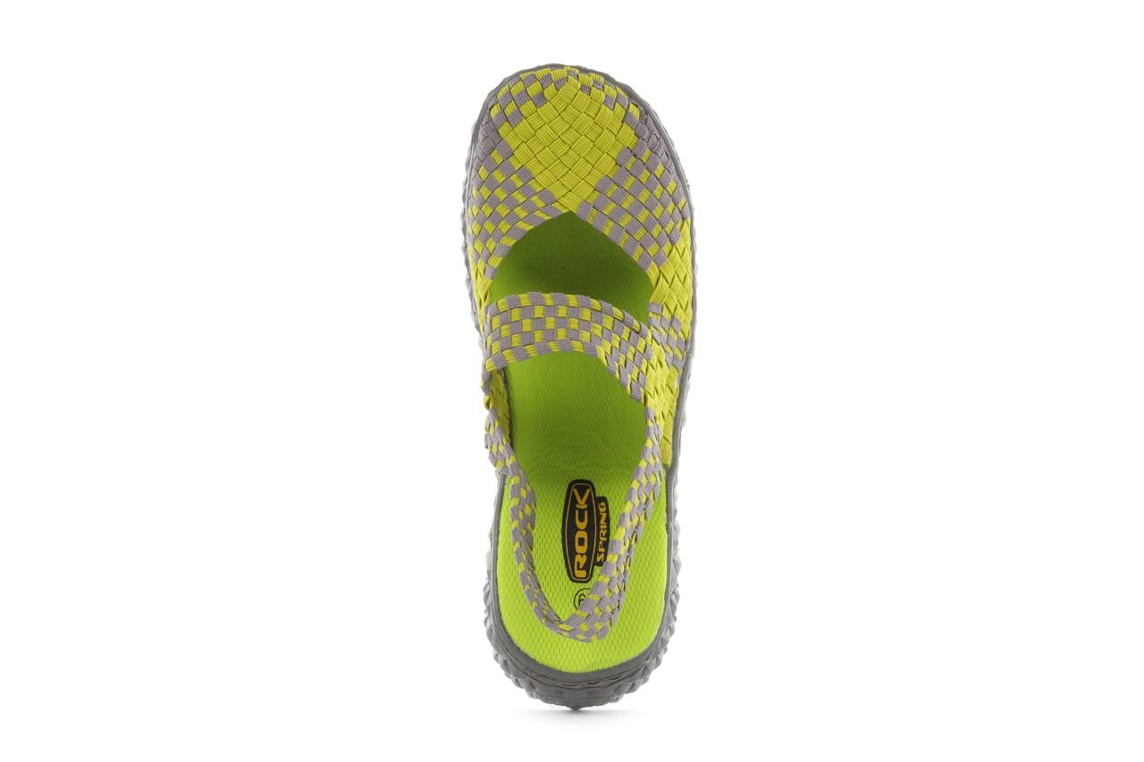 Sandały rock over sandal green-grey, zielony/ szary, materiał  - rock - nasze marki 11