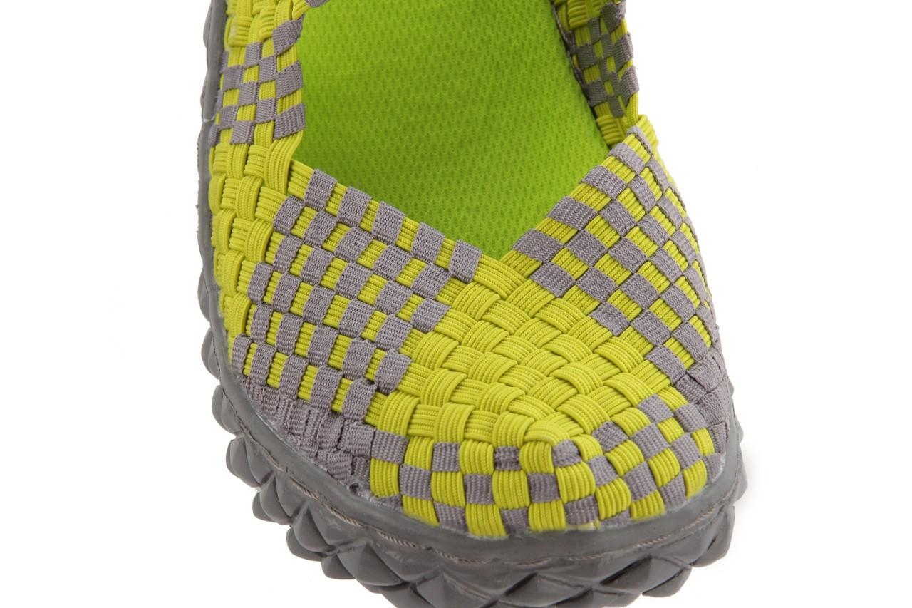 Sandały rock over sandal green-grey, zielony/ szary, materiał  - rock - nasze marki 12